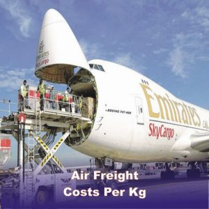 Air Freight Costs Per kg