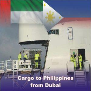 Cargo to Philippines from Dubai