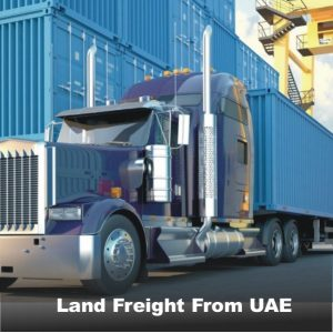 Land Freight From UAE