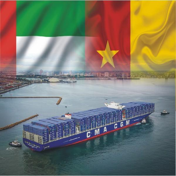 sea Shipping From Dubai To Cameroon